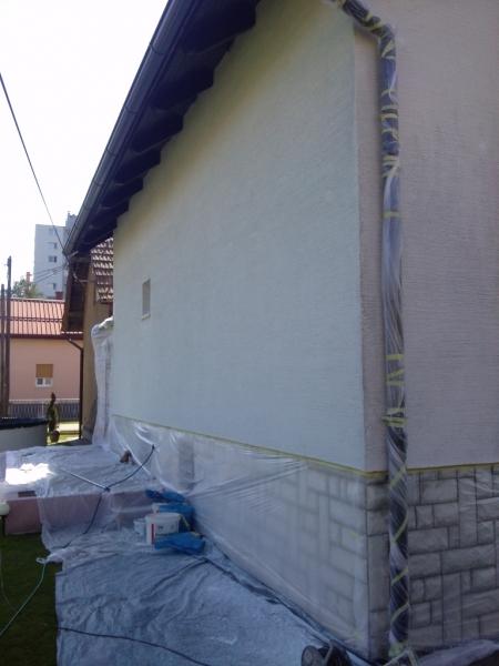 Zaščita okolice fasade