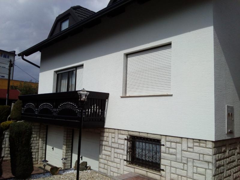 Končni izgled fasade